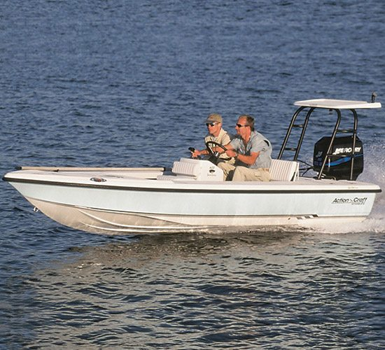 Action Craft Boat for River Fishing Charters