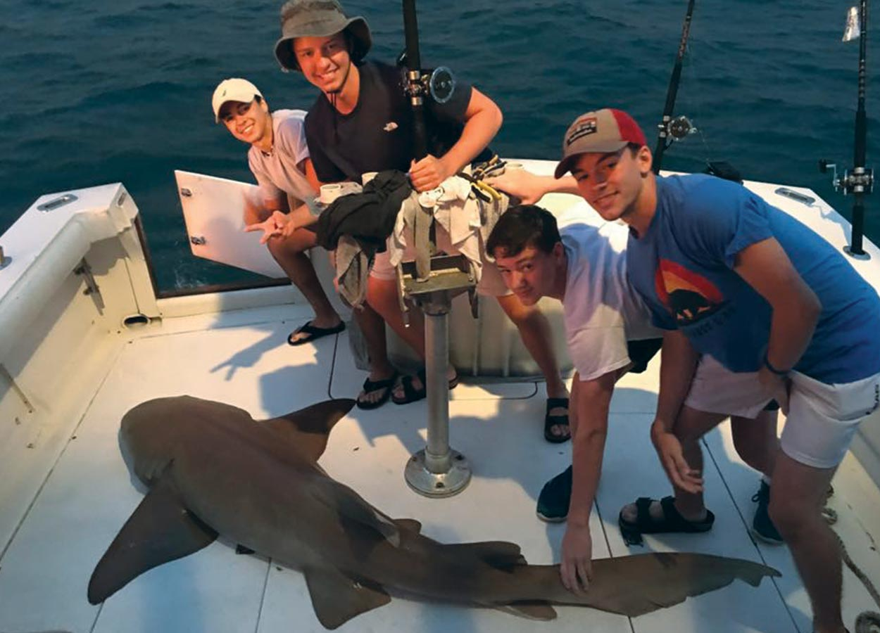 At the Shark Fishing Charter in Cape Canaveral, Cocoa Beach and Orlando